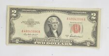 Crisp 1953-A Red Seal $2.00 United States Note - Better Grade *902