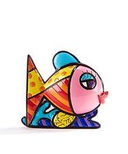 ROMERO BRITTO MINI FIGURINE: PINK FISH ** NEW ** GIFT BOX