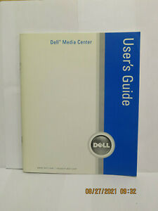 DELL MediaDirect 3.5 Reinstall CD with Instruction Book/Manual NEW - SEALED