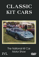 CLASSIC KIT CARS - NATIONAL KIT CAR SHOW - MINT DVD - FREE POST IN UK