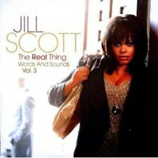 """JILL SCOTT""""THE REAL THING:WORDS AND SOUNDS VOL.3""""CD NEW+"""