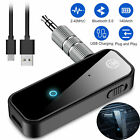 Bluetooth5.0 Wireless Transmitter Receiver Audio Adapter 3.5 mm Aux Car USB C0V1