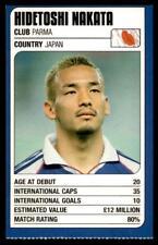 Revista de coincidencia-Trump Tarjetas (Copa del Mundo 2002) Hidetoshi Nakata (Japón)