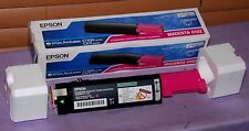 Genuine EPSON 0192 Magenta Toner Cartridge For Aculaser  C1100 & CX11 -New Other