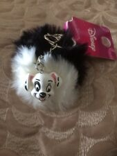 Primark Disney 101 Dalmatians Keyring BNWT Double Key Chain Dog Pom Pom