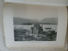 Art Work on British Columbia Canada 1900 Carre Large H/B Photographic History