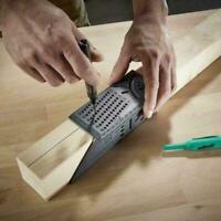 Tragbarer 3D Gehrungswinkel Winkelmessholzverarbeitung mit und Lineal Manom K8U7