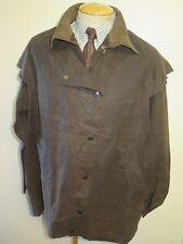"""Vintage Barbour Backhouse Stockman 3/4 Waxed jacket Men's M 40"""" Euro 50"""