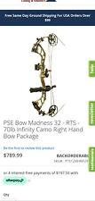 PSE Archery Bow Madness Compound Bow