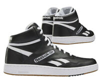 New Reebok Classic BB4600 Leather Mens Athletic sneaker black white all sizes