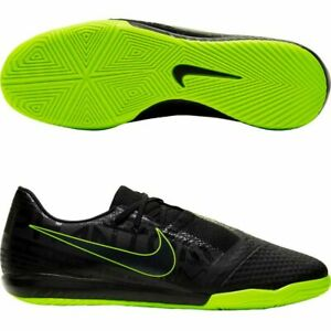 Nike Phantom Venom Academy IC Size 9.5 Black Volt Mens Indoor Soccer AO0570-007