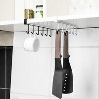 6 Haken Unter Regal Schrankeinsatz Tassenhalter Tassenregal Küche Organizer