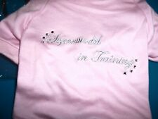 "NEW INTERNATIONAL PET SUPPLIES Pink ""Supermodel in Training Dog Tee - SIZE SMALL"