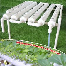 54 Pflanzenstandorte 6 Rohre Hydroponic Grow Tool Kits Gemüsegarten System