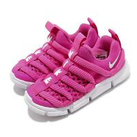 Nike Novice BR PS Laser Fuchsia White Preschool Kids Running Shoes BQ6720-600