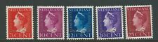 1947TG Nederland Cour Internationaal  D20-D24 postfris mooie serie zie foto's.