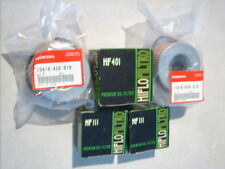 HONDA CB ,    5 X OIL FILTERS  LOT   ,,, NEW ,,, ,,, Old Inventory ,,,