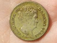 1843 Denmark 2+1/2 Schilling 8 Rigsbankskilling Coin RARE #P26
