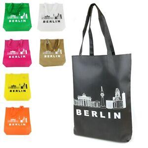 Berlin Jutebeutel Hipster Tragetasche Einkaufstasche Shopper Beutel #100927