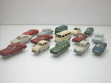 Wiking H0 Nice lot 15 Cars 1/160 Scale Plastic Car Good Condition