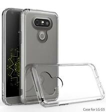 Exact Prism Ultra Slim Scratch Resistant Clear Hard Shell Bumper Case for LG G5