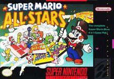 Super Mario All-Stars SNES Great Condition Fast Shipping