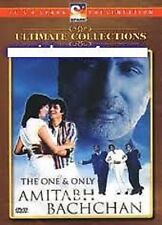 THE ONE & ONLY AMITABH BACHCHAN - UK ORIGINAL BOLLYWOOD MUSIC DVD  FREE POST
