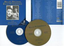 """HOLIDAY & FITZGERALD """"The essential collection"""" (2 CD)"""