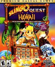 Slingo Quest Hawaii PC Games Windows 10 8 7 XP Computer slots & bingo puzzle
