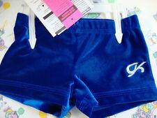 Gk Elite Gymnastics Cheer Dance Shorts Blue Velvet Cxs