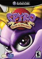 Spyro Enter the Dragonfly Nintendo GameCube Complete CIB Tested Free Ship