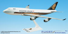 Flight Miniatures Singapore Airlines 747-400 1:250 Scale Display Model Airplane