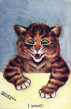 Louis Wain. I Won't by Faulkener in Series # 453 E.
