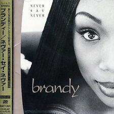 Brandy - Never Say Never CD + 1 Bonus Track w/ Monica Japan Import