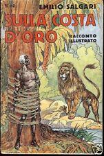Emilio Salgari = SULLA COSTA D'ORO =Rac.N.82