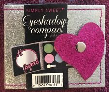 Simply Sweet Glitter Eyeshadow Compact w/ 6 Colors & Mirror