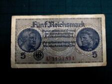 Germany Third Reich 5 Reichsmark Nazi Germany Money 1941-1944