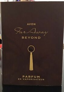 Avon Far Away Beyond SAMPLE Perfum, NEW PRODUCT LAUNCH IN JULY