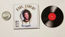 """Miniature record  Barbie Gi Joe 1/6  Figure  Playscale  Dr Dre The Chronic 2"""""""