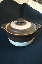 Denby Stoneware Sugar Bowl & Lid 13.5x10cm