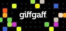 GIFFGAFF pay as you talk payg standard micro nano SIM card PAYG