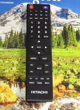 ORIGINAL HITACHI 850125633 LED TV Remote Control LE32E6R9, LE40A509, LE43A509