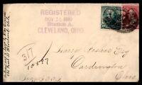 OHIO CLEVELAND  NOVEMBER 14 1890 REGISTERED TO CARDINGTON