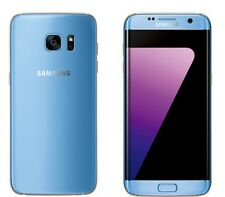 "New Imported Samsung Galaxy S7 Edge Single Sim 32GB 4GB 5.5"" 12MP 4G LTE Blue"