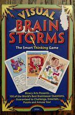 Visual Brain Storms The Smart Thinking Game Binary Arts 1995