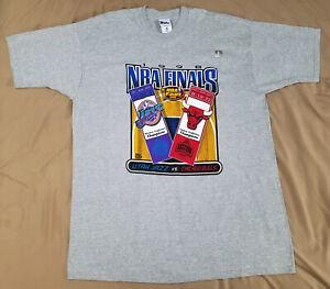 Vtg 1998 Chicago Bulls Utah Jazz NBA Finals t-shirt size 2XL NEW Michael Jordan