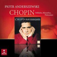 Piotr Anderszewski - Chopin: Mazurkas, Ballades & Polonaises (NEW CD)