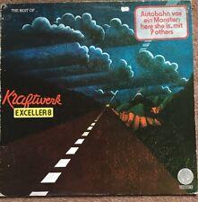The Best Of Kraftwerk Exceller 8 LP Buy 5 LPs 4 £3.99 Post (UK) 1st Press Tex Sl
