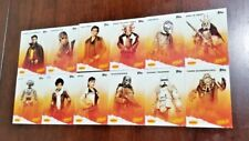 Complete Set 2018 Star Wars Solo Movie Dennys Topps 12 Card Story Chewbacca