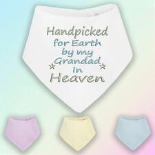 Handpicked for Earth Grandad Embroidered Baby Bandana Dribble Bib Gift Heaven